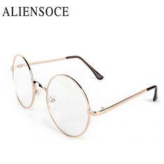 Harry Potter Glasses Computer Lenses Round Metal Frame Eyeglasses Women Men Anti Blue Oculos De Grau Transparent Spectacles