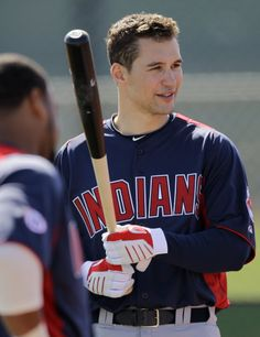 Grady Sizemore, ex-Center Fielder for the Cleveland Indians. Such a bummer.