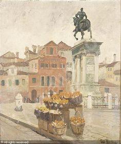 THAULOW Frits (Fritz) Johann F. - Le Coleone, Venice
