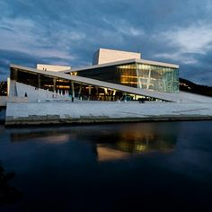Den Norske Opera: Naturstein i fasader er levert av Naturstein Montering AS på Sundvollen i Hole Kommune Den, Opera House, Building, Travel, Natural Stones, Viajes, Buildings, Destinations, Traveling