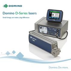 Domino D-Series – new, compact lasers are flexible in more ways than one. The new i-Tech scan head is smaller and adjustable, allowing the D-Series lasers to be installed in the most restricted spaces.