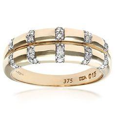 Bague Femme - Or jaune (9 carats) 3.84 Gr - Diamant 0.15 Cts - T 46.5 Bijoux pour tous http://www.amazon.fr/dp/B000VKLLZ2/ref=cm_sw_r_pi_dp_Enh7vb1VFEXVK
