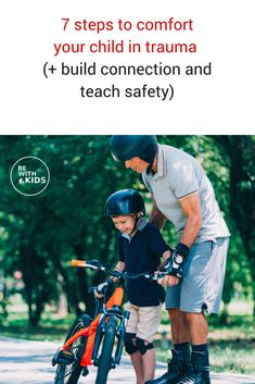 How to comfort your child in trauma, build connection and teach safety #kidssafety #sportssafety #bewithkids #children #safekids Teaching Safety, Teaching Kids, Teaching Tools, Dog Safety, Child Safety, Safety Rules, Social Media Safety, School Safety, Parenting Advice