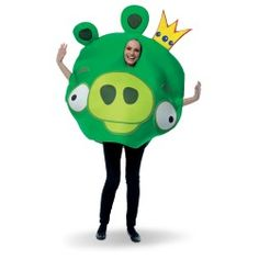 King Pig Adult Costume Angry Birds