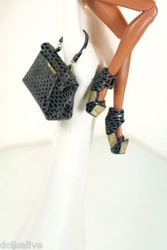 grey leather shoes, grey leather Kelly bag
