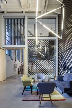68b547dfeb343e New Google Campus in Madrid Opens in Jump Studios–Renovated Battery Factory  Photos