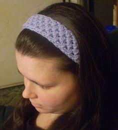 Crafty Momma: Star Stitch Headband