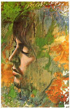 Beatles Paul McCartney Let It Be Psychedelic Art Poster 11x17