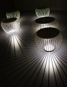 LAMPADA DA TERRA A LED IN ACCIAIO MERIDIANO | VIBIA