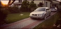 """jetta with big brother """"audi"""""""