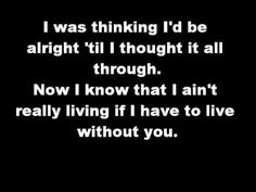 ▶ Chicago - I don't want to live without your Love (lyrics) - YouTube