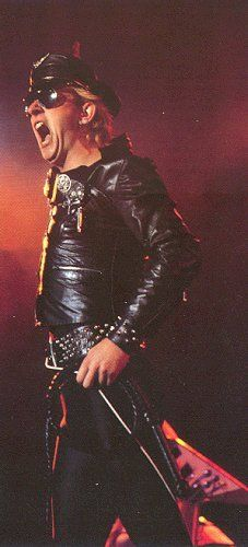 Judas Priest 1979; Saw them in concert...pulled up on their motorcycles