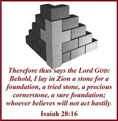 REVELATION OF JESUS (@henry00114) | Twitter *Jesus fulfilled*Isaiah prophecy*I lay in Zion a stone for a foundation*Isaiah 28:16*Matthew16:18*1Corinthians 3:11