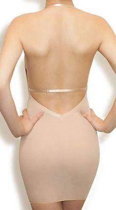 Rita - Low Back & Front Contouring Slip