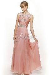 Prom Dress: Jadore SD Collection - SD023 - 30D Chiffon w/ beaded crystal