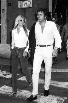 Brigitte Bardot and Gunther Sachs