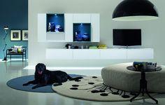 Arredamenti soggiorno moderni Doimo Design a roma - L\'Arte Del Legno ...