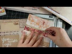 Loaded Envelope Process Video - Covering the base with Decorative Paper Envelope Tutorial, Pocket Envelopes, Decorative Paper, Envelope Punch Board, Card Making Tutorials, Pocket Letters, Card Tags, Paper Decorations, Homemade Cards