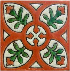 Alhambra Terracota Perpignan Talavera Mexican Tile