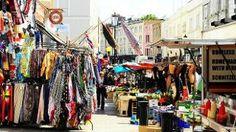 Portobello Market stalls