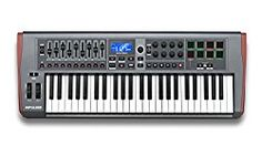 Impulse 49 USB MIDI Controller Keyboard with Automap 4 Control Software, Rotary Encoders and Fader, Backlit Trigger Pads, Ableton Clip Launch