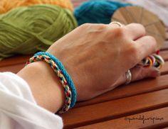 braccialetto-bimbi-cotone-fai-da-te.jpg (567×438)