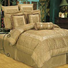 Hallmart Collectibles 61088 Essentials Romantic Dreams 10-Piece King Size Comforter Set by Hallmart Collectibles, http://www.amazon.com/dp/B0041HENV0/ref=cm_sw_r_pi_dp_zx4oqb0QXA2ZV