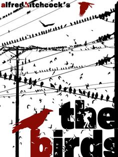 Movie Poster Design Cinema The Birds