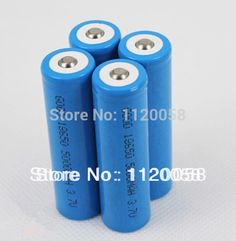 New 4pcs Sports LED Flashlights Battery Rechargeable 18650 Li-ion 5000mah Free Shipping