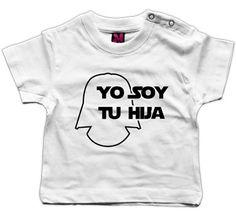 "Camiseta para bebé ""Yo soy tu hija"""
