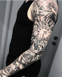 Sleeves So Fascinating You'll Faint - TattooBle. - - 40 Sleeves So Fascinating You'll Faint – TattooBle… – Sleeves So Fascinating You'll Faint - TattooBle. - - 40 Sleeves So Fascinating You'll Faint – TattooBle… – - Forarm Tattoos, Forearm Sleeve Tattoos, Best Sleeve Tattoos, Eye Tattoos, Best Forearm Tattoos, Holy Tattoos, Tattos, Clock Tattoo Sleeve, Tattoo Sleeve Designs