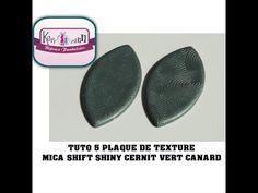 TUTO 5 PLAQUE DE TEXTURE MICA SHIFT SHINY VERT CANARD - YouTube