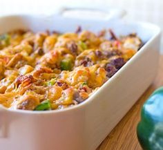 This Twisted Tater Tot Casserole is a budget-friendly weeknight dinner!