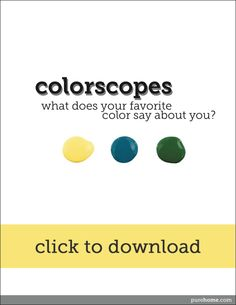 Find out what your favorite color says about you!