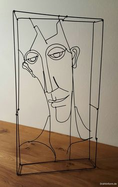 wire art: wire sculptures
