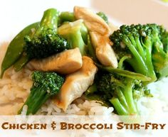 Chicken and Broccoli Stir-Fry Recipe