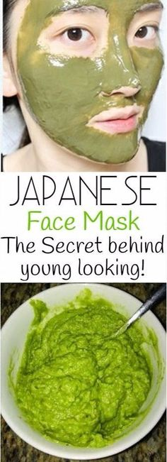 Japanese Face Mask Do This Once A Week To Look 10 Years Younger ! Japanese Face Mask: Do This Once A Week To Look 10 Years Younger ! The best part of this mask. Homemade Facial Mask, Homemade Facials, Beauty Care, Diy Beauty, Beauty Hacks, Japanese Face, Japanese Beauty, Tips Belleza, Belleza Natural