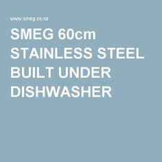 smeg 60cm built under disherwasher with 5 programmes 4 washing temperatures model dwau214xo