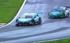 Blog Esportivo do Suíço: Barrichello usa experiência em pista molhada, segura Fraga e vence corrida 1 de Goiânia
