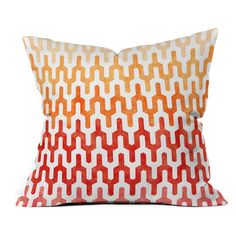 Have to have it. DENY Designs Arcturus Warm 1 Outdoor Throw Pillow - $59.99 @hayneedle.com