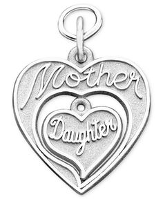 Rembrandt Charms Sterling Silver Mother & Daughter Charm