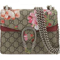 Gucci Mini Dionysus Floral Shoulder Bag