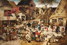 """KERMESSE   Pieter Brueghel el Joven (1564 – 1638) fue un pintor brabazón del renacimiento, hijo del Pieter Brueghel el Viejo, conocido también como De Helse Brueghel (""""Brueghel infernal"""")."""