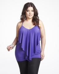 Plus Size Clothing Styles - Bing Images Elle Fashion, Big Girl Fashion, Fashion Outfits, Fashion Tips, Fashion Ideas, Addition Elle, Plus Size Kleidung, Classy Outfits, Plus Size Tops