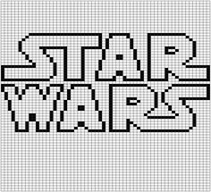 Pattern set number two! These are the gridded patterns I used for my double knit Star Wars blanket. Each pattern is 60 stitches wide and 71 tall and makes one square out of the nine total used in t… Star Wars Crochet, Crochet Stars, Minecraft Crochet Patterns, Cross Stitch Embroidery, Cross Stitch Patterns, Star Wars Quilt, Star Wars Crafts, Pixel Art Templates, Graph Paper Art