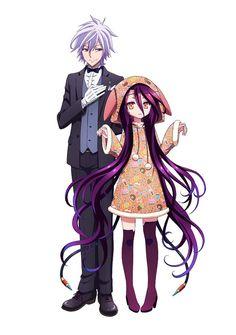 No game No life Zero Shiro and Sora Manga Anime, Anime Gifs, Anime Art, Shiro, I Love Anime, All Anime, Game No Life, Loli Kawaii, Another Anime