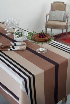 Toffee, Loom Weaving, Hand Weaving, Table Settings, Sweet Home, Creations, Stripes, Dining, Seaside