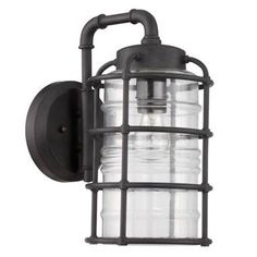 Pipeline In/Out Wall Lantern- Small