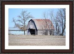Ribbon Roof Crib Framed Print By Bonfire #Photography