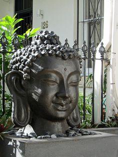 serene, peaceful buddha